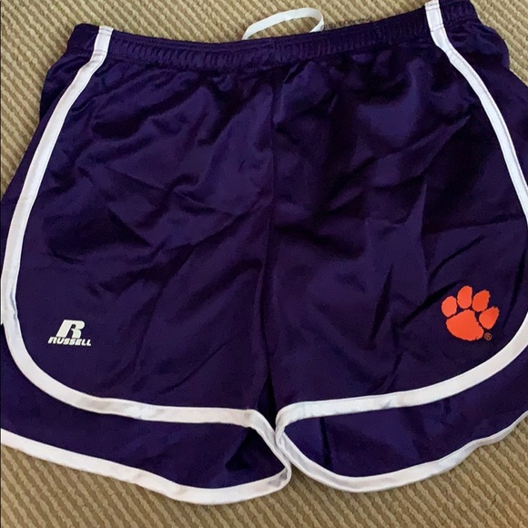 Russell Athletic Other - Girls small Russell athletic Clemson tigers shorts
